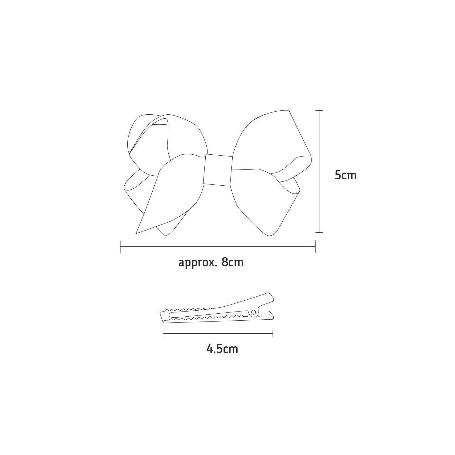 'Spring in Lapa' Chita TopKnot Bow - Double Pack