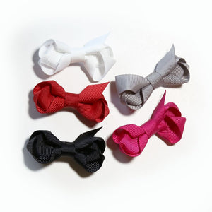 Mini Grosgrain - 5 Pack / Clips - Party Glam