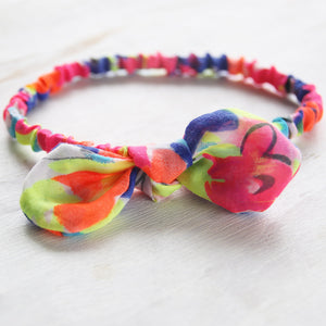 2 in 1 Headband - Thin With Removable Bow