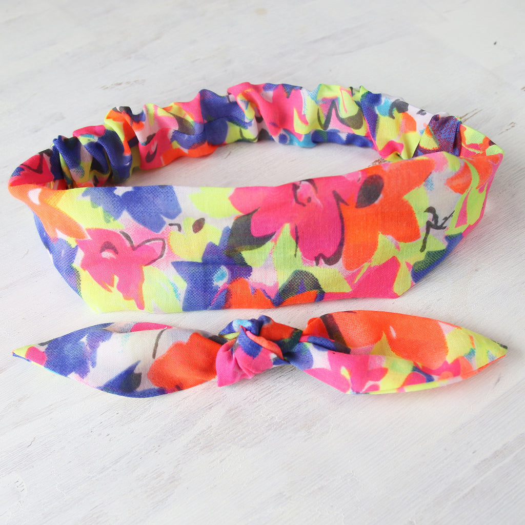 2 in 1 Headband - Rainbow Burst Headband