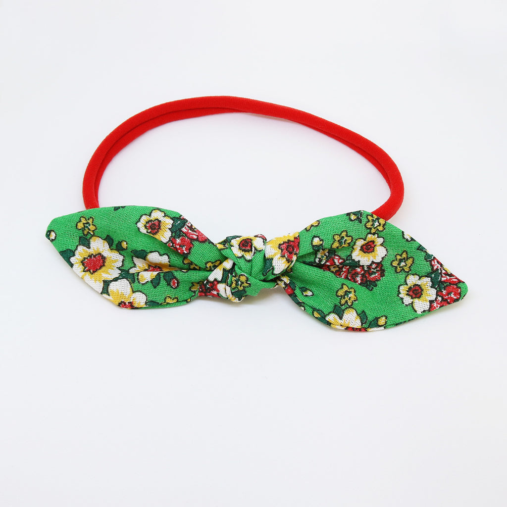'Summer in Gramado' Chita Knot Bow - Medium
