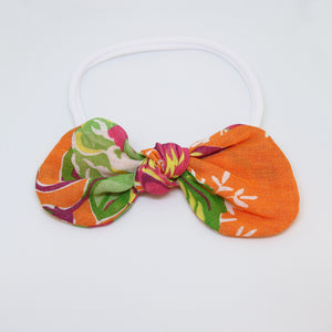 'Sunset in Pantanal' Chita Knot Bow - Large