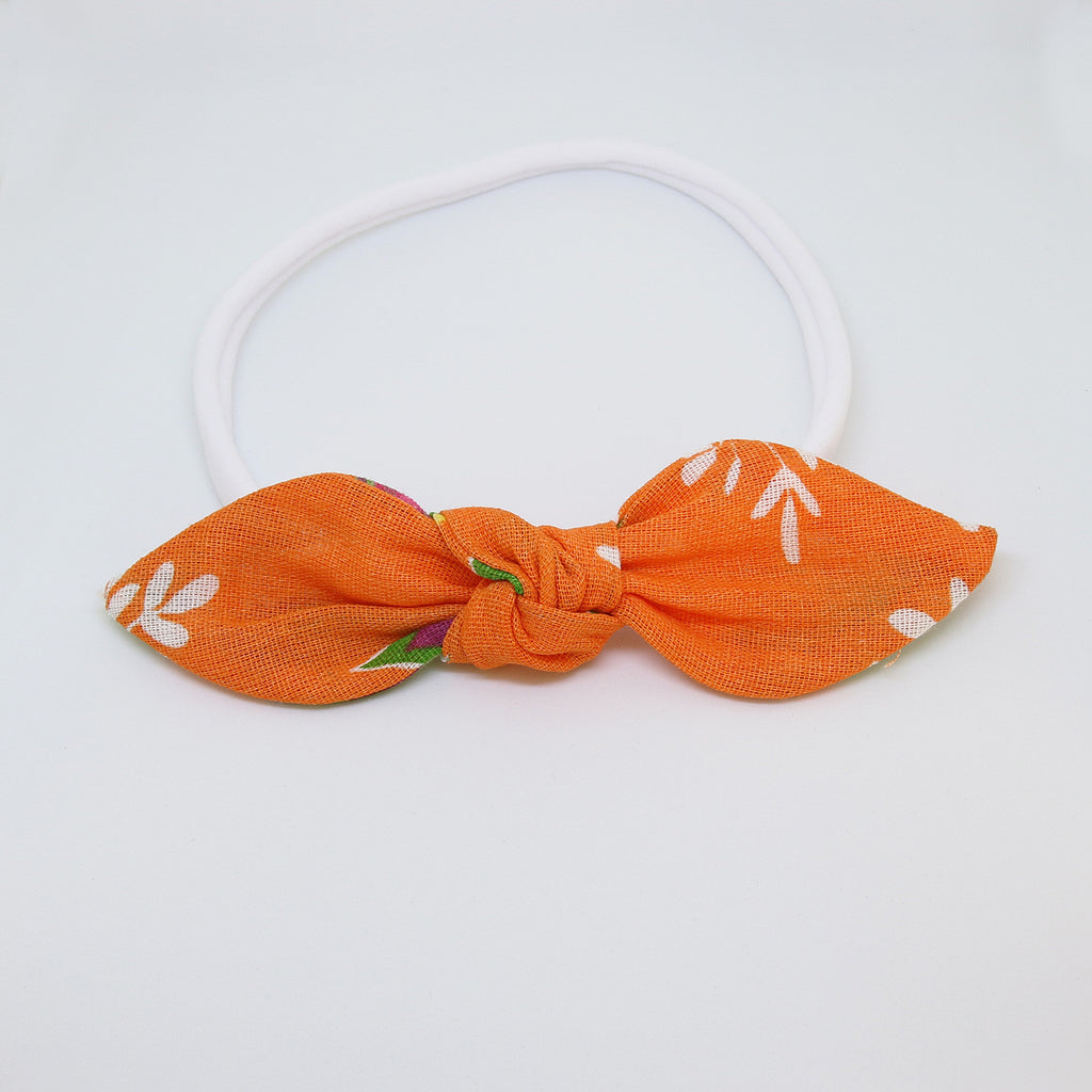 'Sunset in Pantanal' Chita Knot Bow - Medium