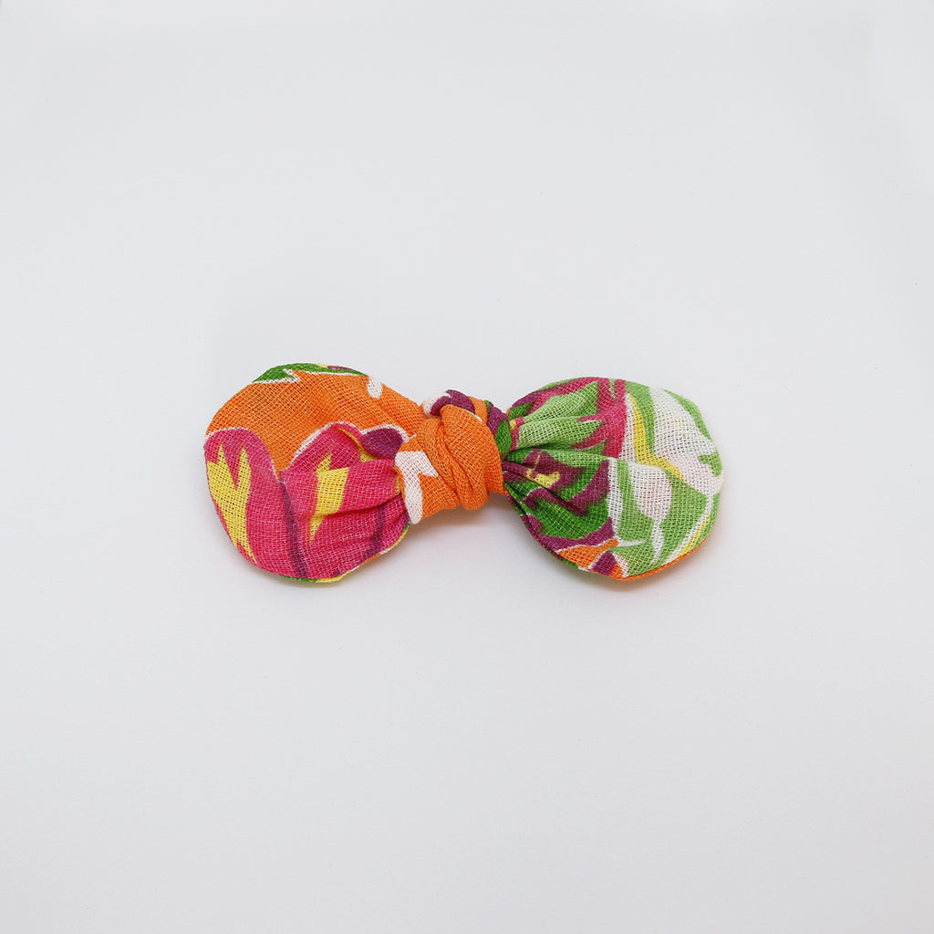 'Sunset in Pantanal' Chita Knot Bow - Small