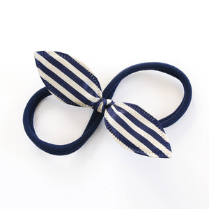Hello Sailor Rabbit Ear Knot with Navy Headband - Single Pack