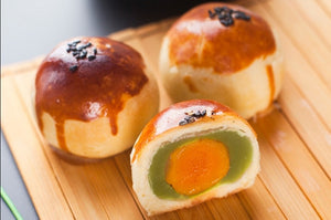 2 Pcs Egg Yolk Pastry 龙井蛋黄酥