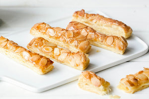Almond Puff Pastry Sticks 杏仁超级酥