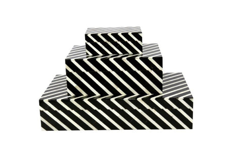 Diagonals Bone Box (Series 02)