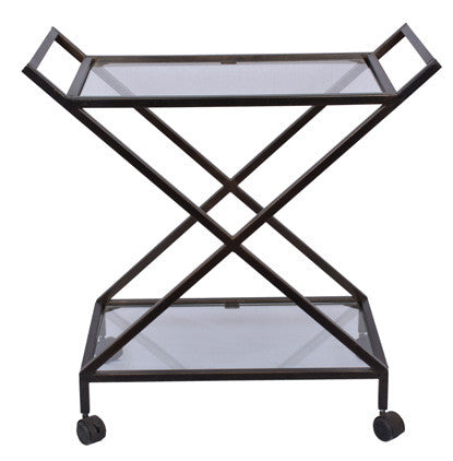 BAR CART - Dark Bronze