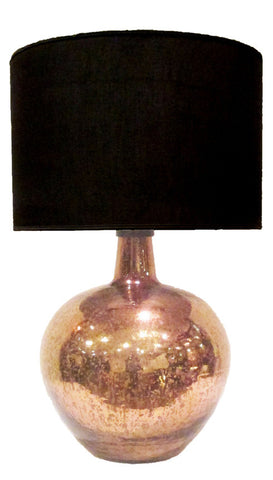 Byron Copperleaf Lamp