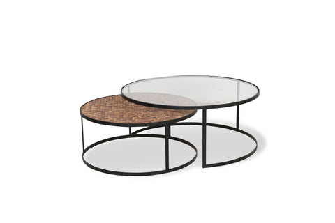 Cannes Coffee Table Set of 2
