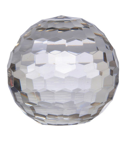 Crystal Ball - Honeycomb Cut