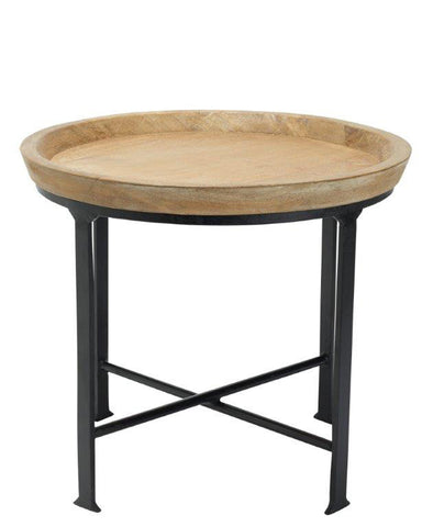Leah Side Table Natural