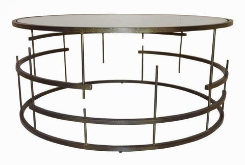 MUNICH COFFEE TABLE DARK BRONZE