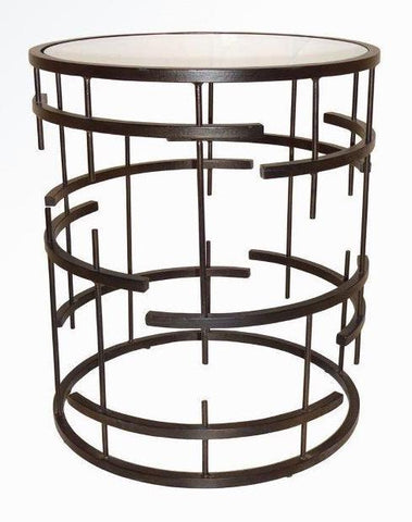 MUNICH SIDE TABLE DARK BRONZE