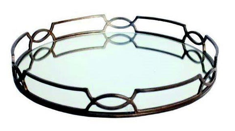 MIRROR TRAY - Dark Bronze