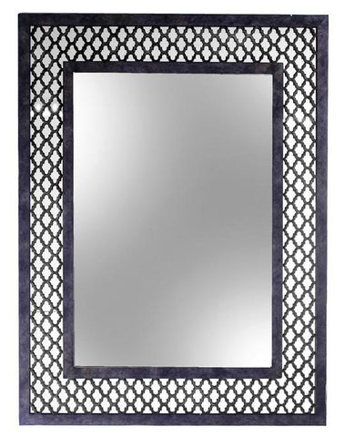 QUADREFOIL MIRROR - Dark Bronze