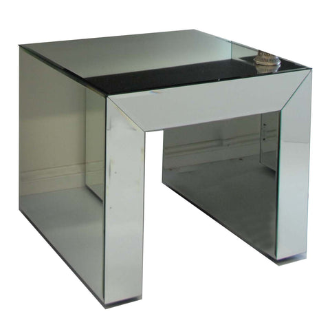 Mirrored Side Table Small