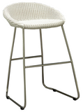 Santorini Lloyd Loom curved back Stool