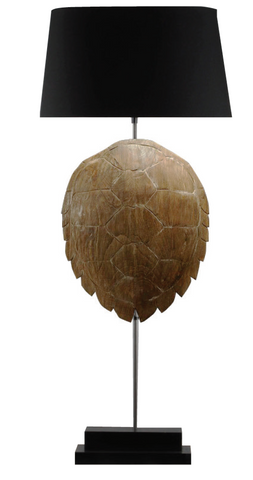 Tortue Lamp-Natural Shell