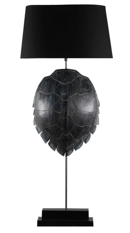Tortue Lamp-Black Shell