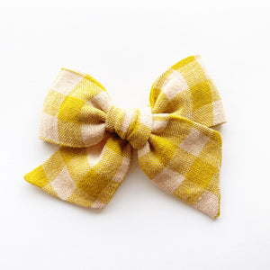 Lucy Gingham Linen