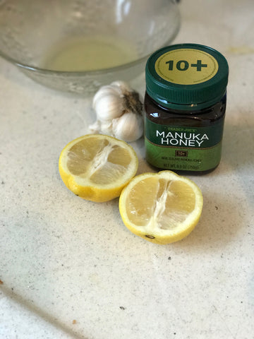 lemon garlic manuca honey