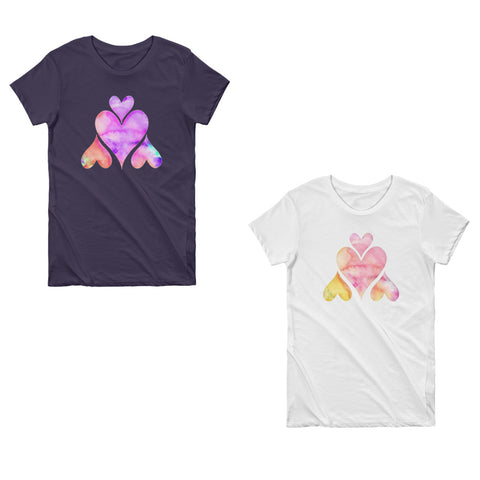 love day womens valentine heart tshirts