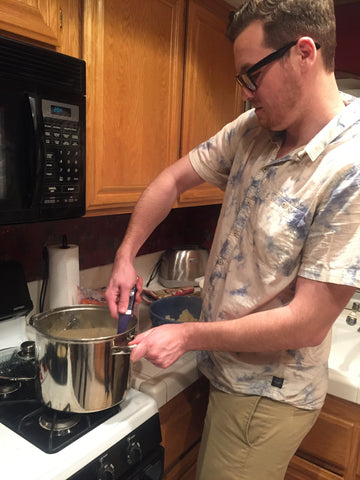 boyfriend cooking