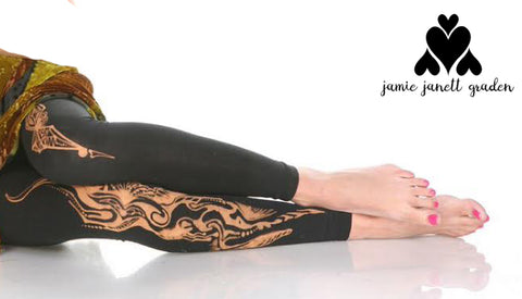 Custom leggings by Jamie Janett Graden