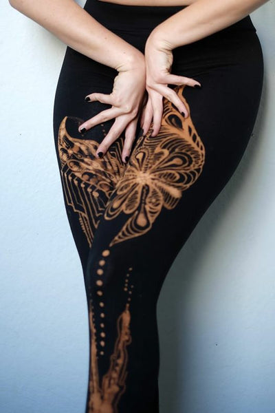 Just-for-You- Custom Bleach Art Leggings