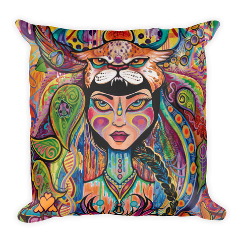 """Urban Goddess Pillow"" ~ Creations of Aya"