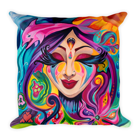 Goddess Underwater Pillow