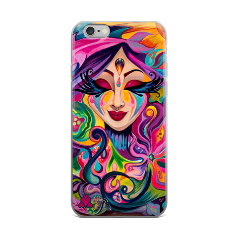 """Goddess Underwater"" iPhone case"