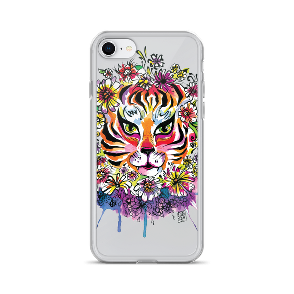 Tiger Splash iPhone Case