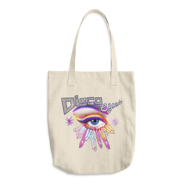 DiscoEyes Cotton Tote Bag