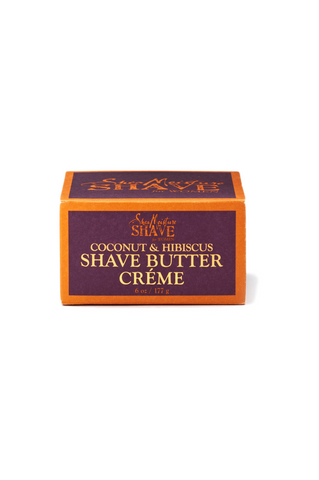 Coconut & Hibiscus Shave Butter Creme