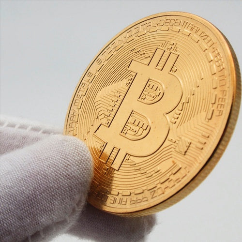 Toys - Gold Plated Bitcoin Coin Collectible