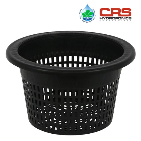 Mesh Pot Bucket Lid 10 in. - Fits 5 Gallon Buckets Net Cup Hydroponics Drip System