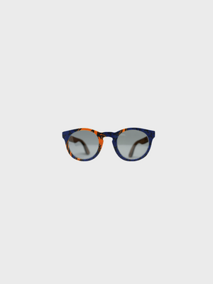Owl - Orange African Wax Sunglasses - The Great Diggers