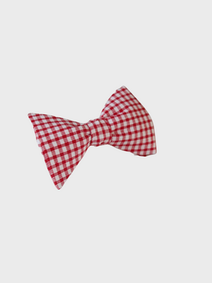 Bow Tie Red Gingham Le Colonel Moutarde