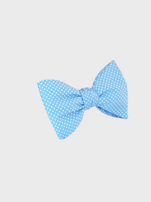 Bow Tie Pale blue with Pin Dots Le Colonel Moutarde