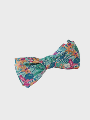 Bow Tie Green Pink Diane Le Colonel Moutarde