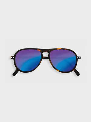 #I Tortoise Mirror Sunglasses - The Great Diggers
