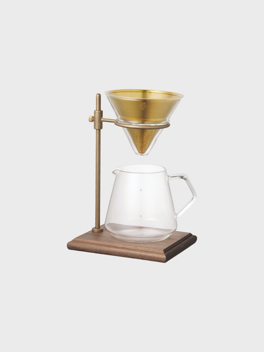 Slow coffee dripper Kinto Japan quality