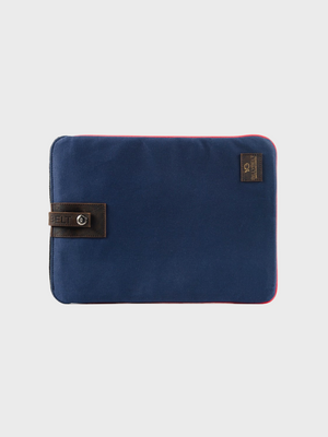 Navy Canvas Laptop Sleeve Billy Belt The Great Diggers