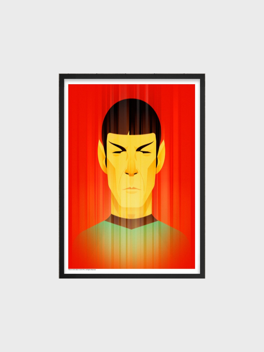 Spock for Star Trek 50th Anniversary Stanley Chow Posters
