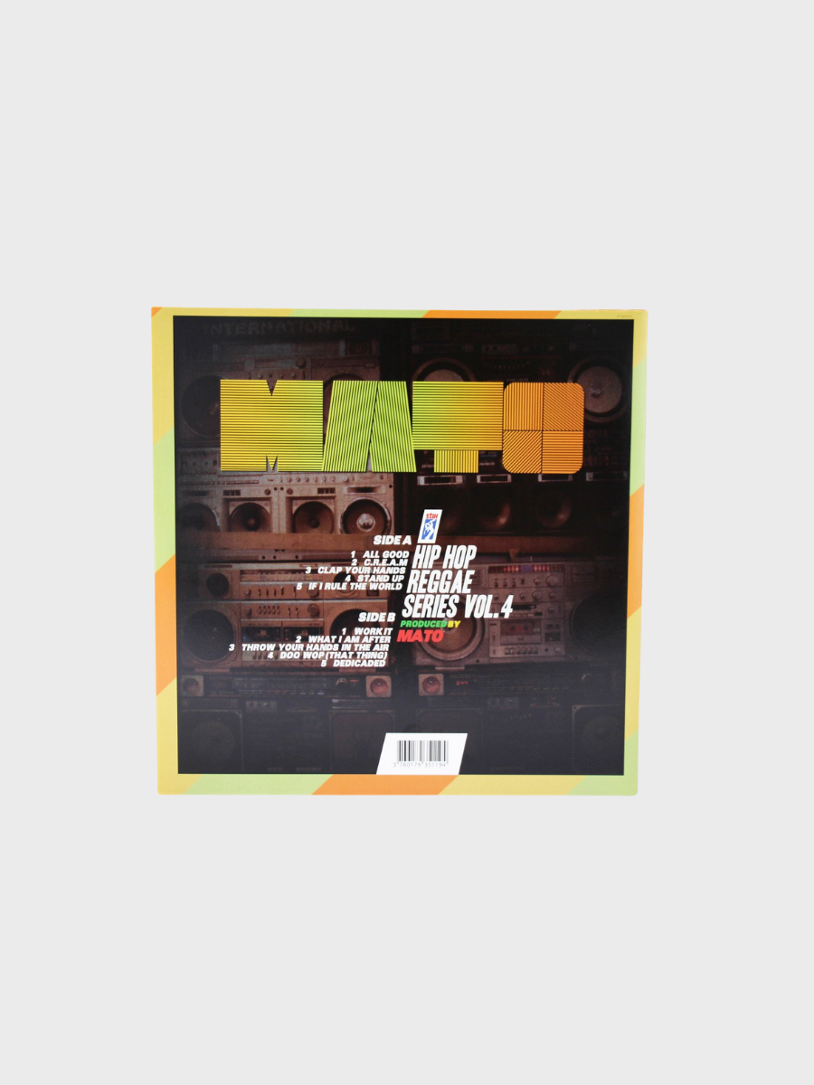 Mato Hip Hop Reggae Series Vol.4 LP vinyl