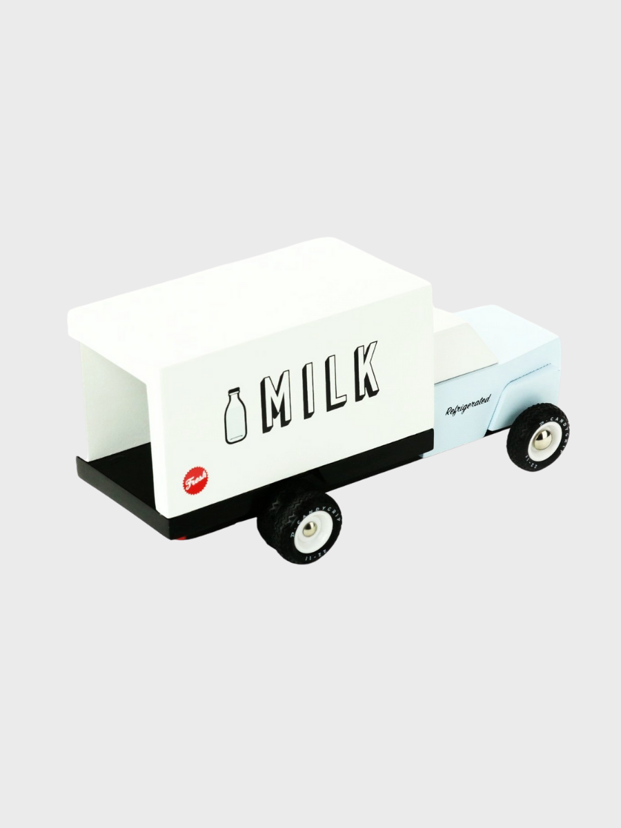 Awesome Wood Cars - Milk Truck - The Great Diggers