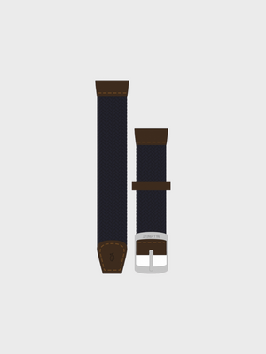 Braided Watch Strap - Navy - The Great Diggers
